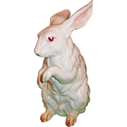 LARGE Lefton White Bunny Rabbit H6660