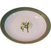 Lily of the Valley 7 5/8 inch Serving Bowl