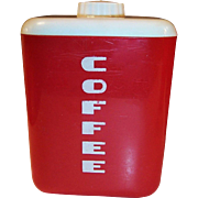 1950's Lustro-Ware Coffee Canister