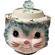"Vintage Lefton ""Miss Priss"" Cat Sugar"