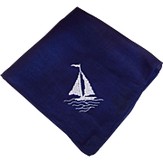 Vintage Nautical Sailing Ship Bandana