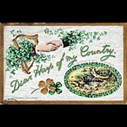 Gottschalk, Dreyfuss & Davis Trademark St. Patrick's Day Postcard