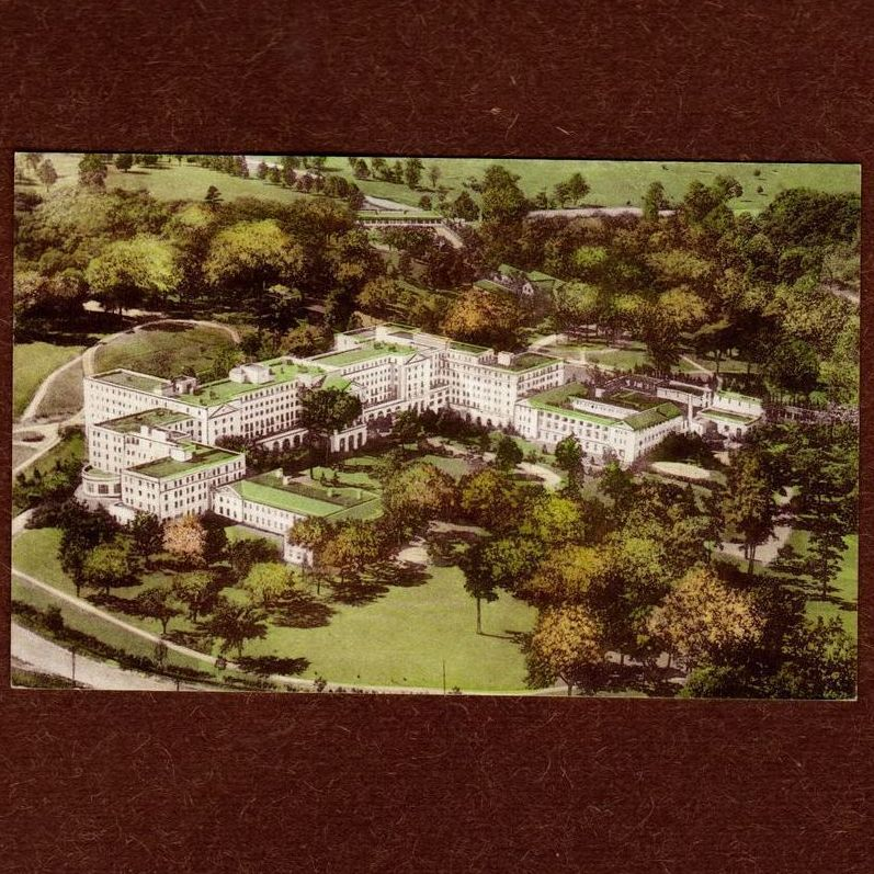 The Luxurious Greenbrier Hotel West VA from ...