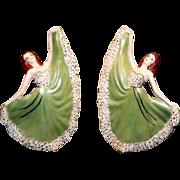 Delicate Dancing Ladies Figurines