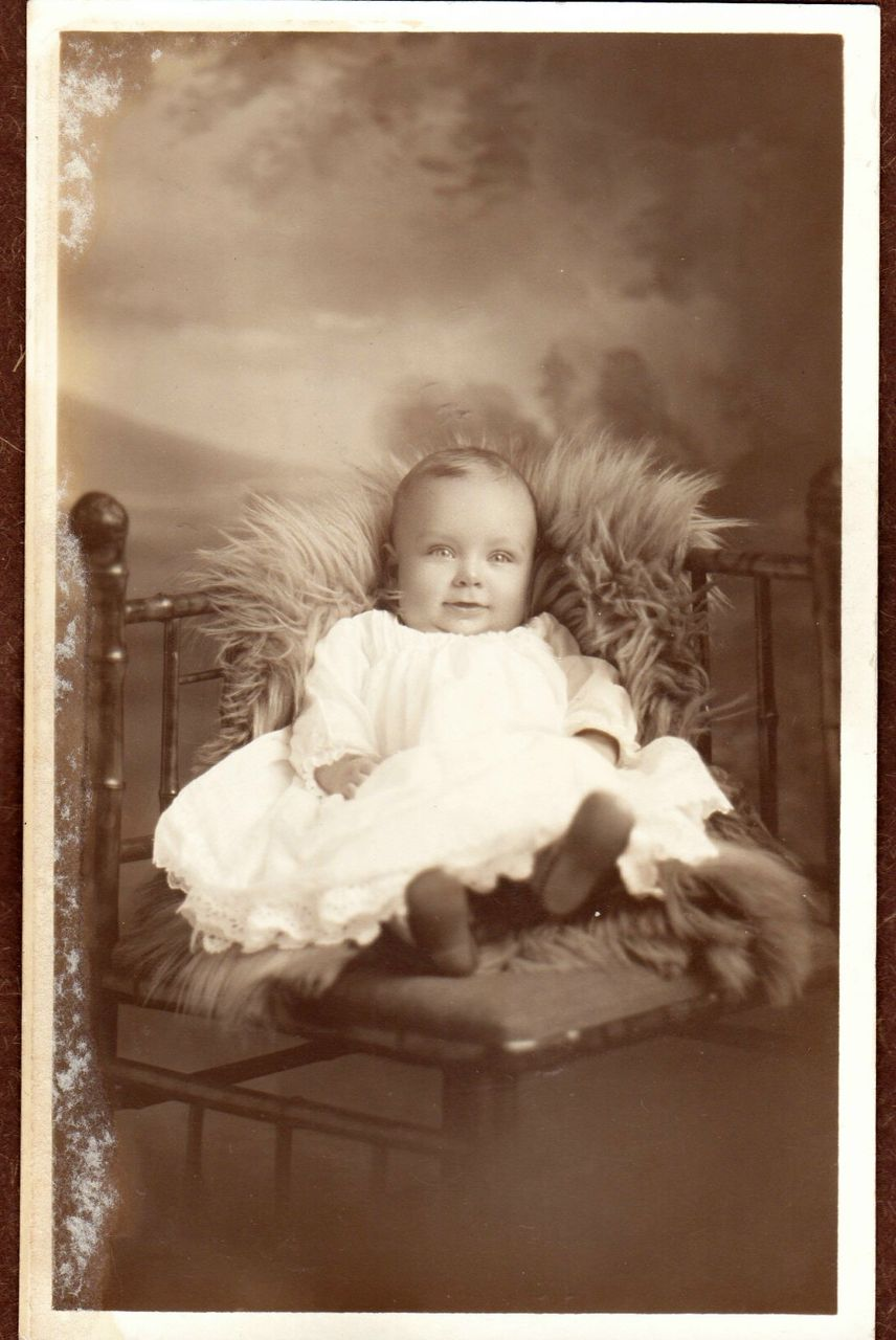 Antique Real Photo Baby Postcard From Ruthsredemptions On