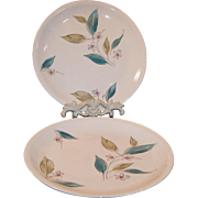 "1950's Paden City Biscayne 10"" Dinner Plates (2 Available)"