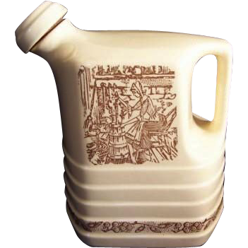 Woman Churning Design ~ Universal Cambridge Water Jug