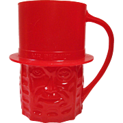 Planters Nuts Vintage Red Mr. Peanut Mug