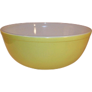 Pyrex Primary Yellow Large (4 Qt) 404 Mixing Nesting Bowl