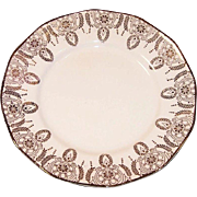 (2) Royal China 22K Gold Manhatten Dessert (Bread & Butter) Plates