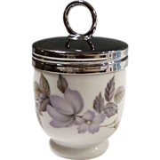 "Royal Worcester ""June Garland"" Egg Coddler"