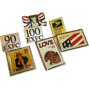 United Postal Service Pin Assortment