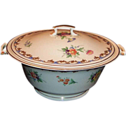 1949 Syracuse China Lady Louise Covered Serving Bowl
