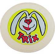 Working Trix  Cereal 1960's Advertising Premium--Trix Rabbit Night Light.