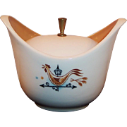 Taylor Smith Weather Vane & Rooster Sugar Bowl with Lid
