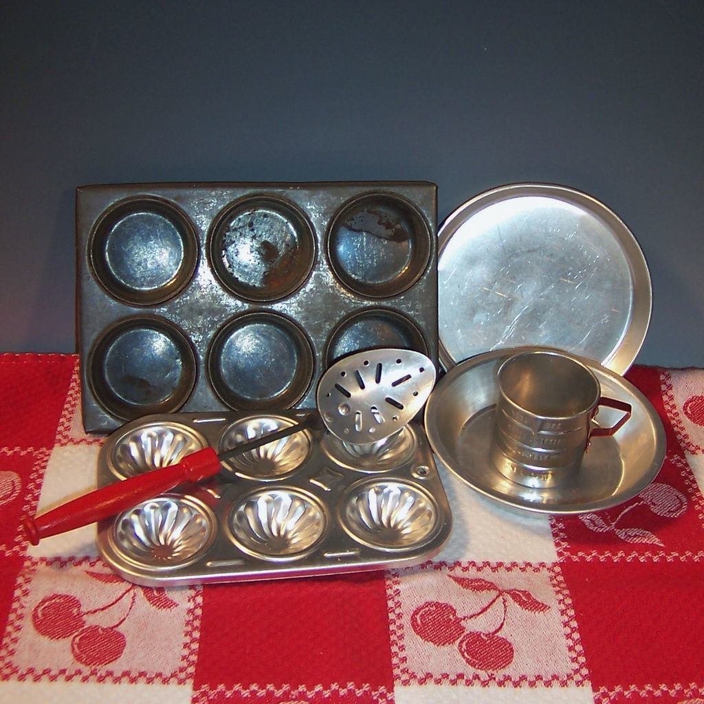 Vintage Toy Baking Cooking Utensils From Ruthsredemptions