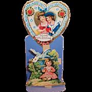 Vintage German Made Sweetheart Valentine