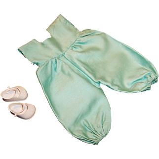 1950's Vintage Vogue Baby Doll Ginnette Shoes and Coveralls