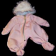 Vogue 1959 Ginnette Pink Hooded Pram Snow Suit