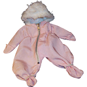 Vogue 1959 Ginnette Pink Hooded Pram Snow Suit