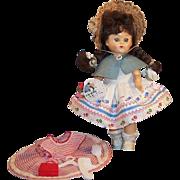 Vintage 1950's Virga Doll 2 Dresses & Acessories