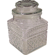 "Crystal Clear Wexford 5 1/4""  Canister"
