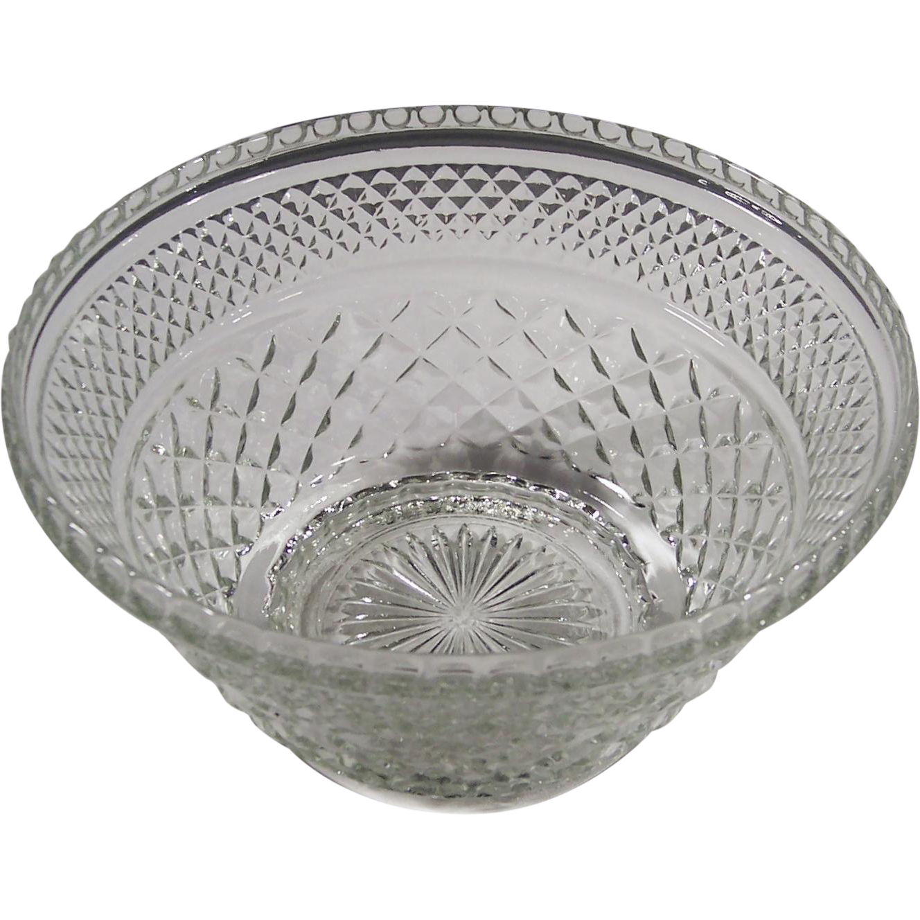 Crystal Clear Large Wexford Glass Bowl