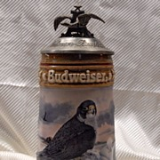 Budweiser Bird of Prey Beer Stein LE 1992