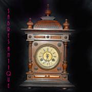 German Antique Janghans Mantel/Table Clock
