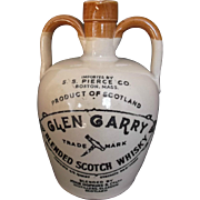Vintage Glen Garry Scotch Whisky Jug Imported by S. S. Pierce Boston