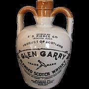 Glen Garry Vintage Scotch Whisky Jug Imported by S. S. Pierce Boston