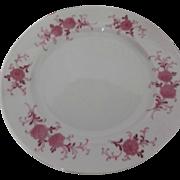 Vintage Seltmann Weiden Bavaria Porcelain Salad Plates Pink Floral Annabell