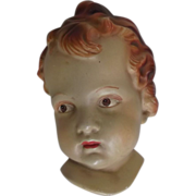 Coventry Ware Angelic Face Bust Plaque Cupid Putti - Red Tag Sale Item