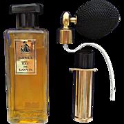 Arpege Lanvin Vintage Eau De Lanvin Boxed Set Atomizer Parfums Cologne