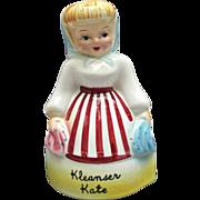 Vintage Kleanser Kate Shaker Figurine