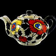Vintage Japanese Porcelain Teapot with Cherry Blossom Backstamp