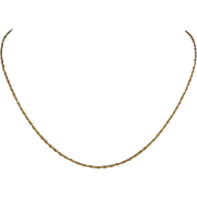 1/20 14K Gold-filled 15-inch Necklace