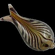 Galliano Ferro Murano Flat Fish