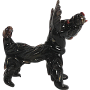 Art Glass Scottie Dog