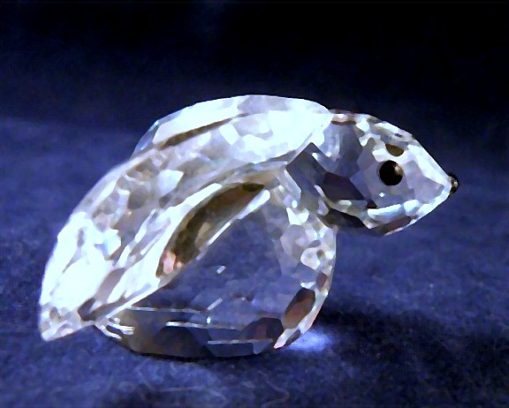 Swarovski Crystal Bunny Rabbit with Original Box