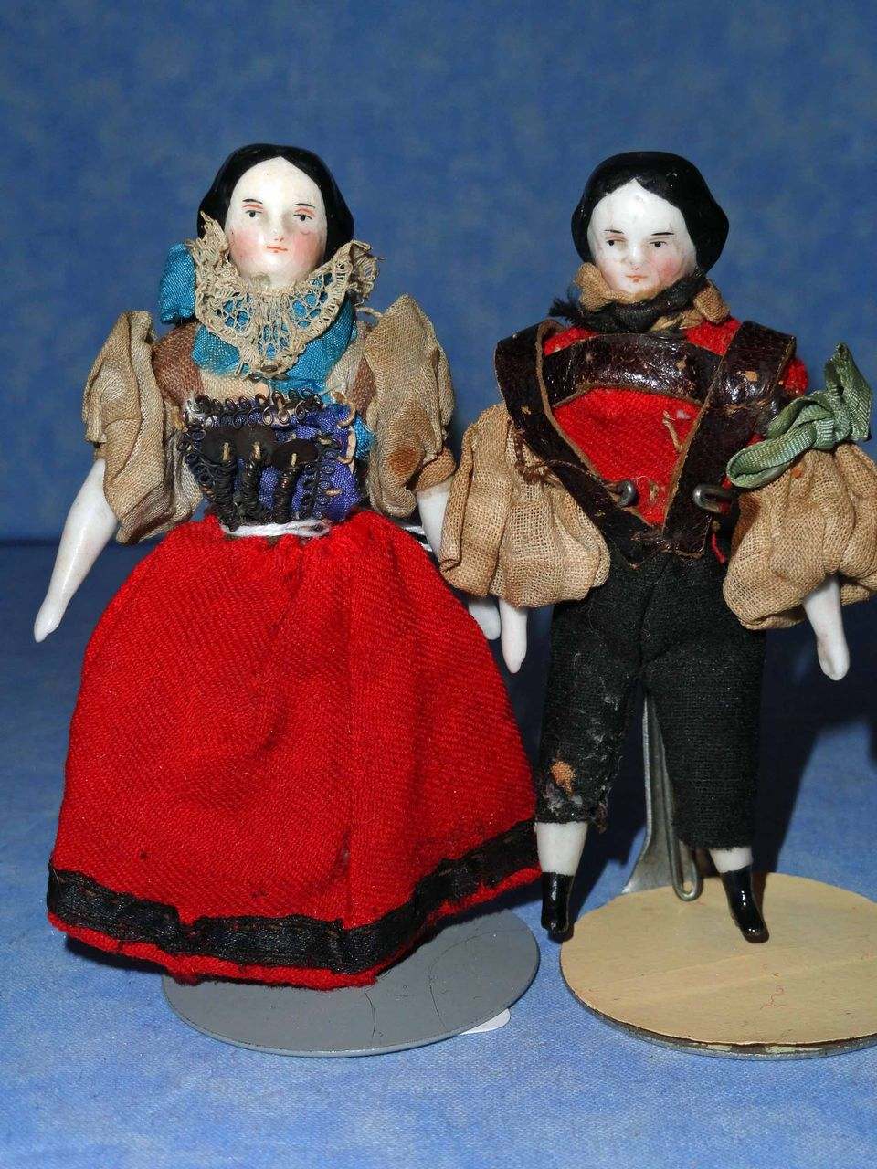 Early China Doll House Pair