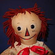 Mollye Raggedy Andy Doll
