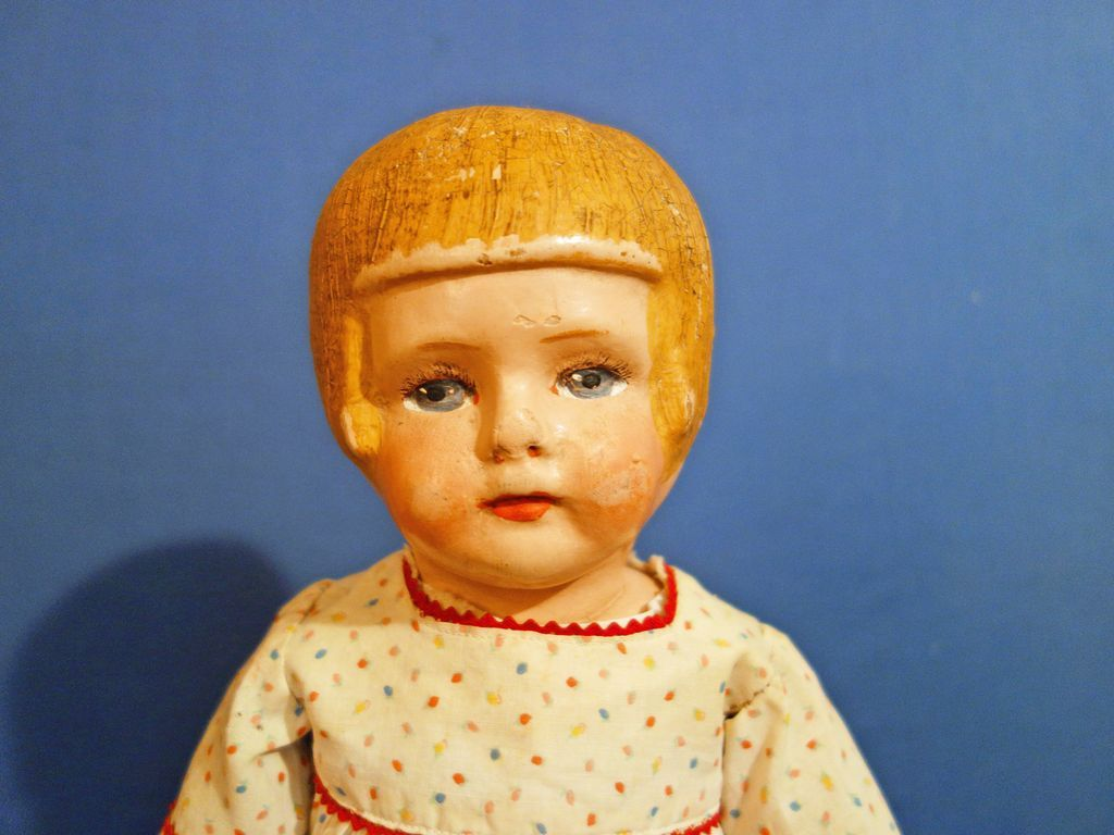 Adorable Chase Bobbed Hair Girl Doll