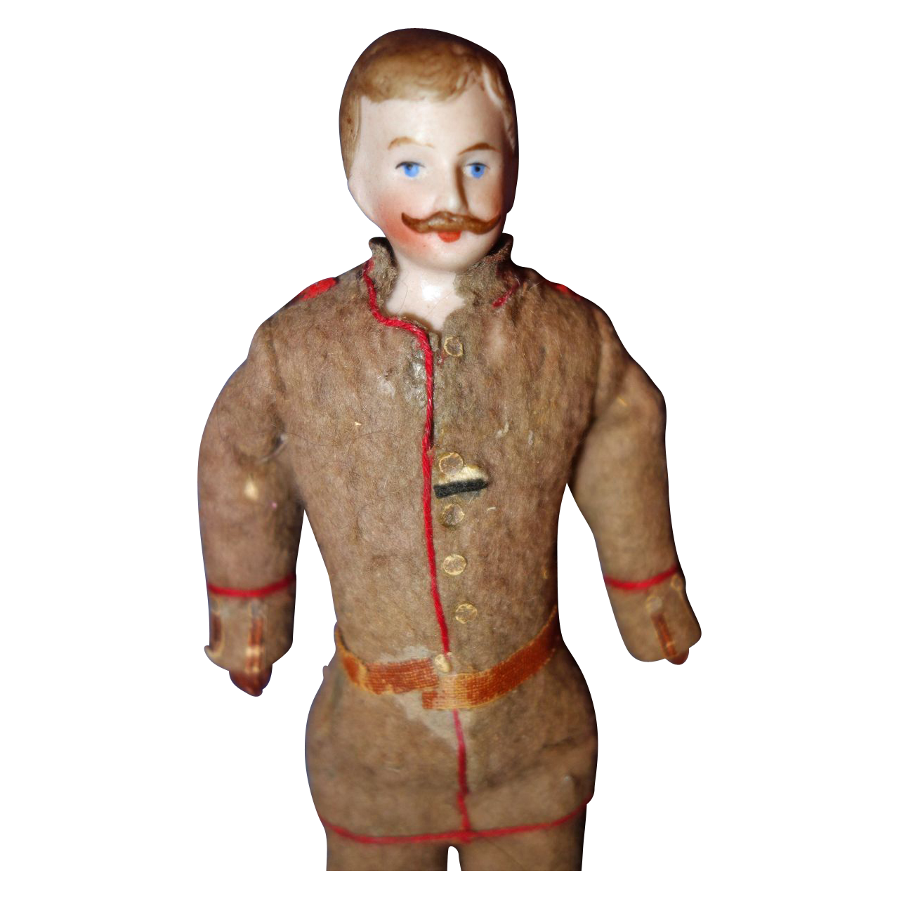 Doll house Man in Military Clothing