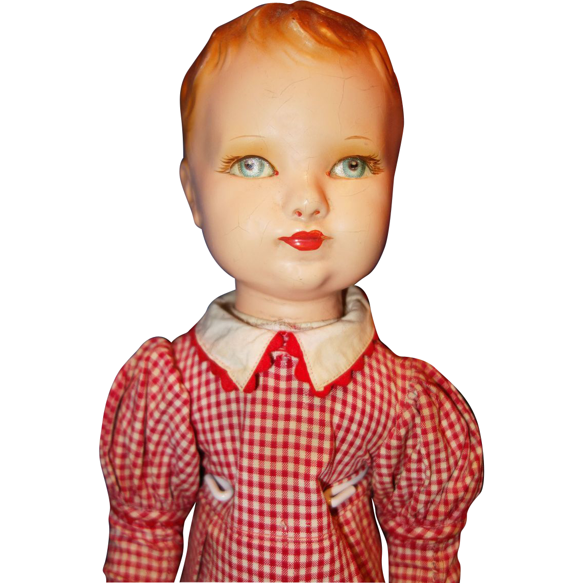 Deans Rag Book Boy Doll with composition head