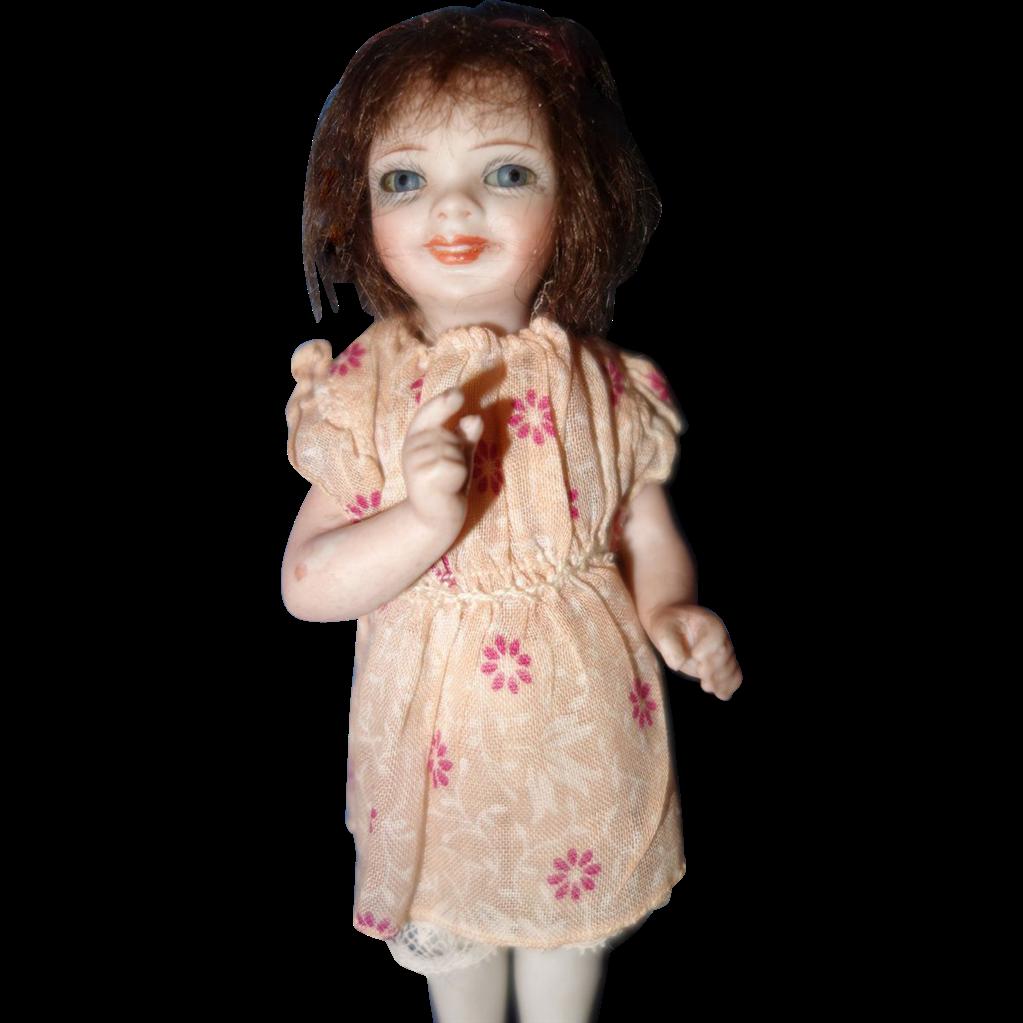 Orsini Didi All Bisque Doll from sarabernsteindolls on Ruby Lane