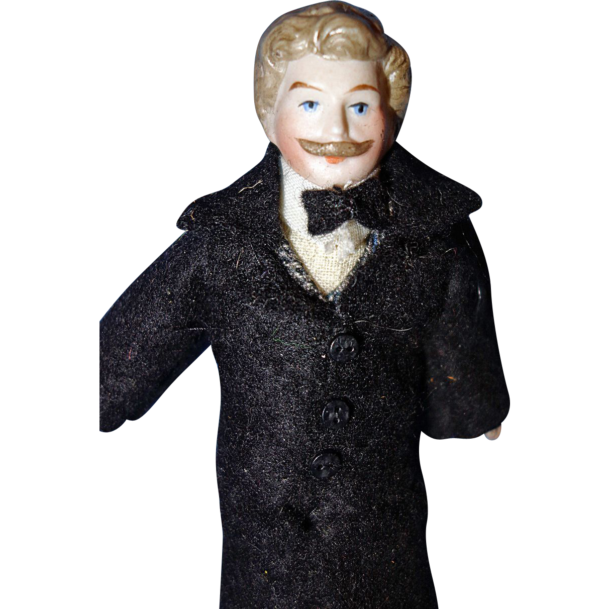 Doll House Man with full head of hair