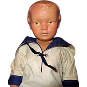 Schoenhut Young Boy Doll Walker