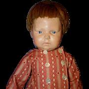 Large Schoenhut Young Boy Doll