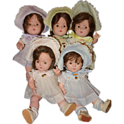 Dionne Quintuplets 14 inches Alexander Company